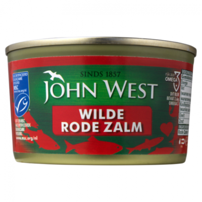 John West Rode zalm