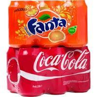 Fanta orange. set 6 blikjes 33 cl