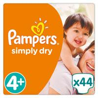 Pampers  Simply Dry Maat 4+