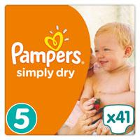 Pampers  Simply Dry Maat 5
