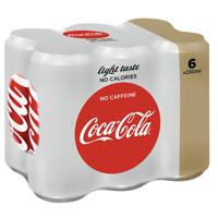 Coca-Cola cola light caffeinevrij.