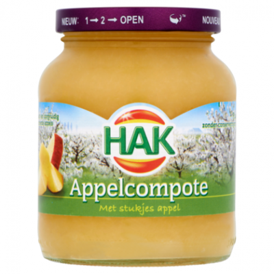 Hak appelcompote.