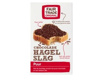 Fair Trade Original hagelslag puur.
