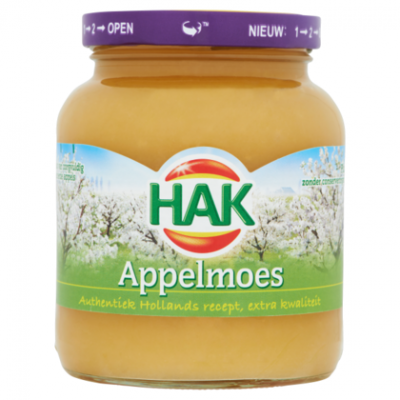 Hak appelmoes extra kwaliteit.