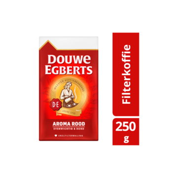 Douwe egberts aroma rood koffie snelfilter