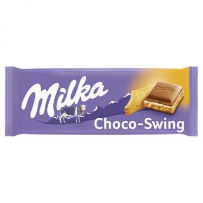 Milka Chocoswing biscuit