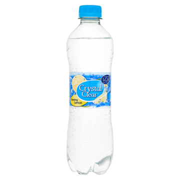 Crystal clear Water Sparkling lemon