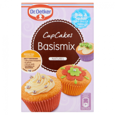 cupcakes compleet pakket chocolade