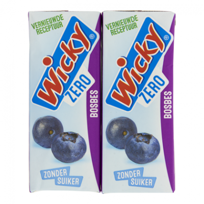 Wicky zero 10-pack bosbes
