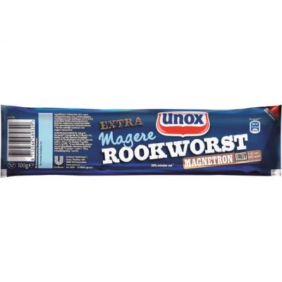 Unox Extra magere rookworst magnetron
