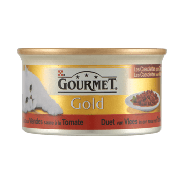 Gourmet Gold duo vlees in tomatensaus