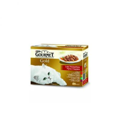 Gourmet Gold fijne mousse 12 porties