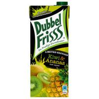 DubbelFrisss Limited edition kiwi/ ananas