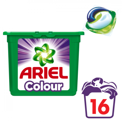 Ariel 3in1 pods Color
