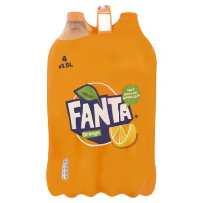 Fanta Orange 4 Pack