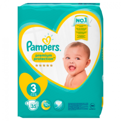Pampers New baby midi 3