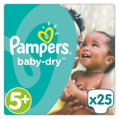Pampers Baby dry junior plus 5+