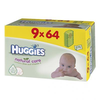 Huggies babydoekjes natural care