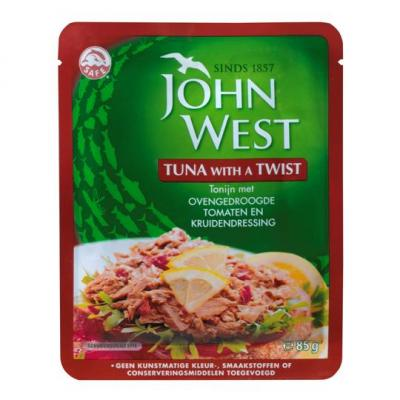 John West tuna with a twist met ovengedroogde tomaten