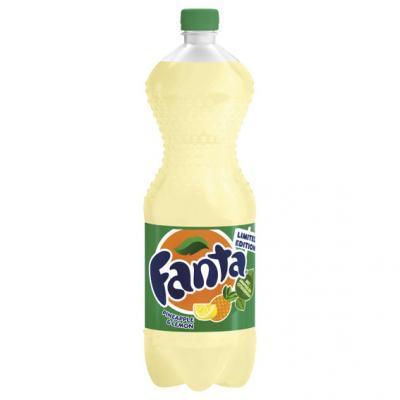 Fanta pineapple lemon Limited Edition