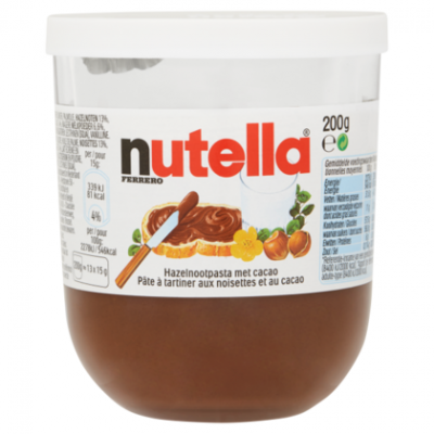 pot nutella 5kg aanbiedingen en prijzen. Black Bedroom Furniture Sets. Home Design Ideas