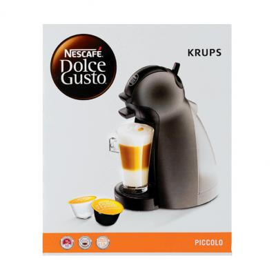 nescaf dolce gusto piccolo anthracite kp100b aanbieding. Black Bedroom Furniture Sets. Home Design Ideas