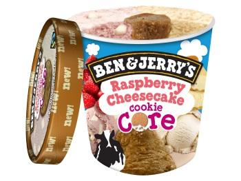 Ben & Jerry's IJs raspberry cheesecake cookie core