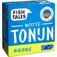 Fish Tales Albacore tonijn in olijfolie MSC