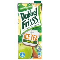 DubbelFrisss Ice tea kiwi & appel