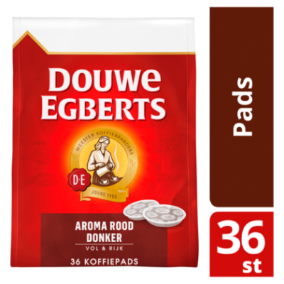 Douwe Egberts Aroma rood donker koffiepads