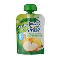 Olvarit Friends knijpzakje appel/ fruitmoes