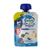 Olvarit Friends bosvruchten smoothie 12 mnd