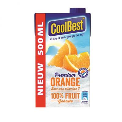 CoolBest Premium orange 100% fruit