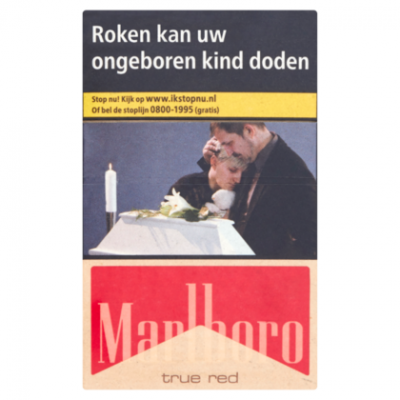 Marlboro True red