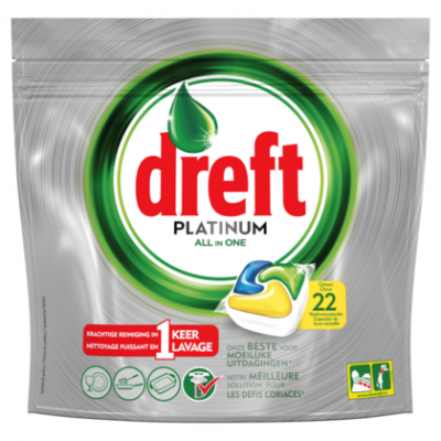 Dreft Platinum all-in-one citroen