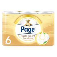 Page Kussenzacht sensitive toiletpapier