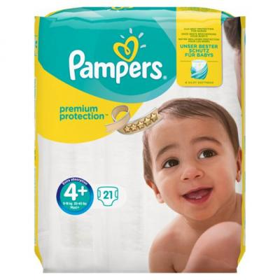 Pampers Premium protection maxi maat 4+
