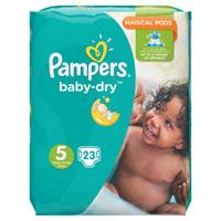 Pampers Baby dry Junior maat 5