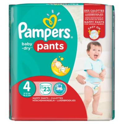 Pampers Baby dry pants maxi maat 4