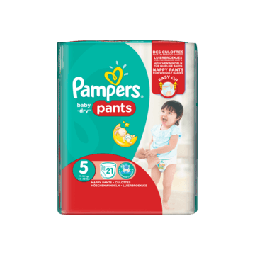 Pampers Baby dry pants junior maat 5 (11-18 kg)