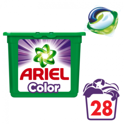 Ariel 3-in-1 pods wasmiddel color