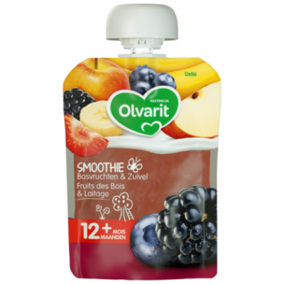 Olvarit Friends smoothie bosvr. yoghurt 12 mnd