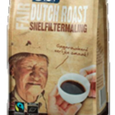 Bio+ Dutch roast koffie snelfiltermaling