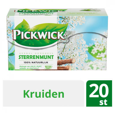 Pickwick Sterrenmunt kruidenthee