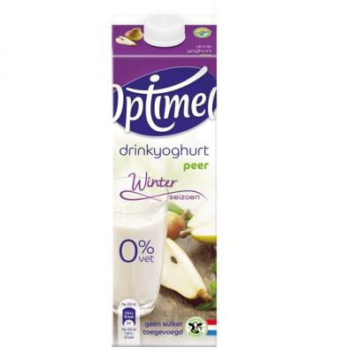 Optimel drink 0% vet peer (seizoensvariatie)