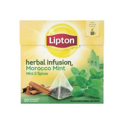 Lipton Herbal infusion thee morocco mint