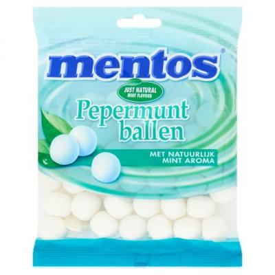 Mentos Peppermuntballen 200 Gr