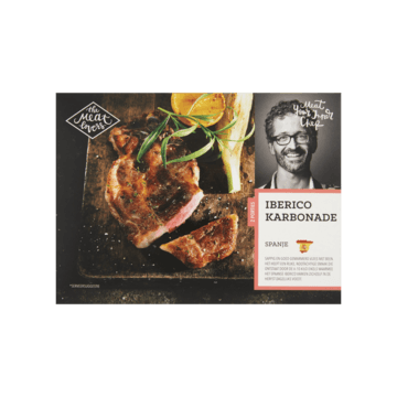 The Meat Lovers Iberico Karbonade Spanje (Diepvries) 300g