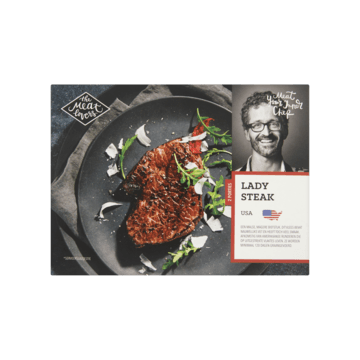 The Meat Lovers Lady Steak USA (Diepvries) 250g