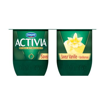 Activia Vanillesmaak 4 x 125g